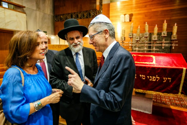 Esta comunidad judía convoca un encuentro para recordar a sus antepasados expatriados y proclamar su identidad puramente española.