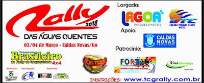 20º Rally das Águas Quentes