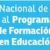 Proceso de registro de los y las docentes en el Programa Nacional de Formación Avanzada (postgrados)
