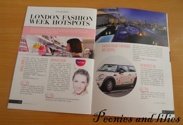 Birchbox uk lifestyle magazine, Birchbox february 2013