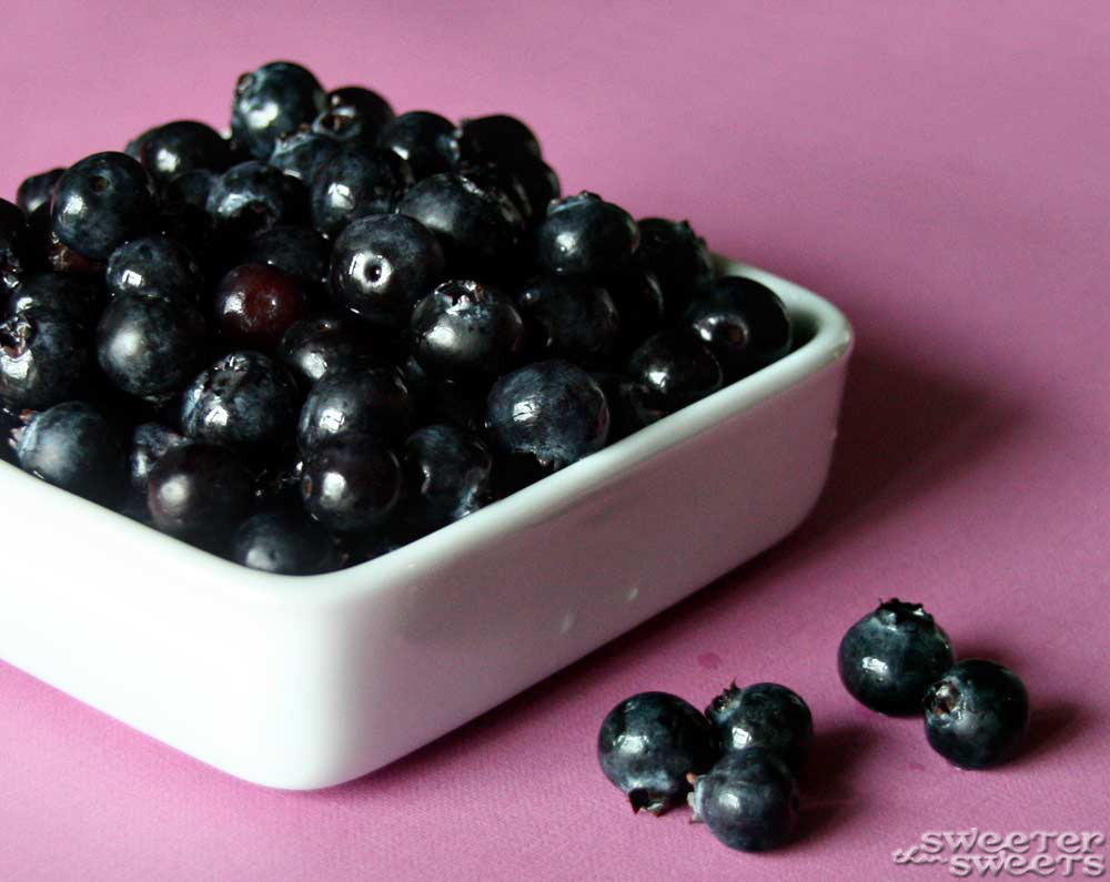 Blueberries by Tricia @ SweeterThanSweets