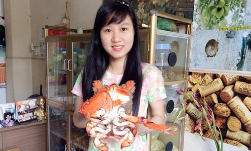 Cua huỳnh đế loại 1kg luôn được khách Hà Nội săn đón