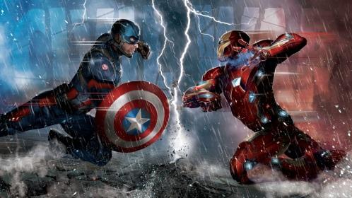 Capitão América - Guerra Civil (Captain America: Civil War) Torrent – HDTS Legendado (2016)