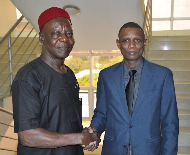 NATA National Executives Visit NADDC Director General