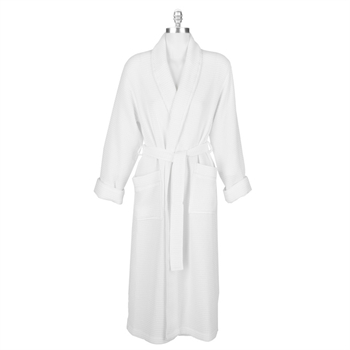 c53439c0bb Create a spa environment in your own home. The comfy waffle knit on this  robe gives it a soft and unique texture