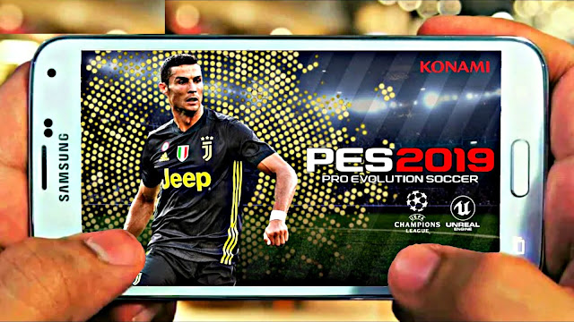 Download PES 2019 Android Offline 700 MB Champions League Edition