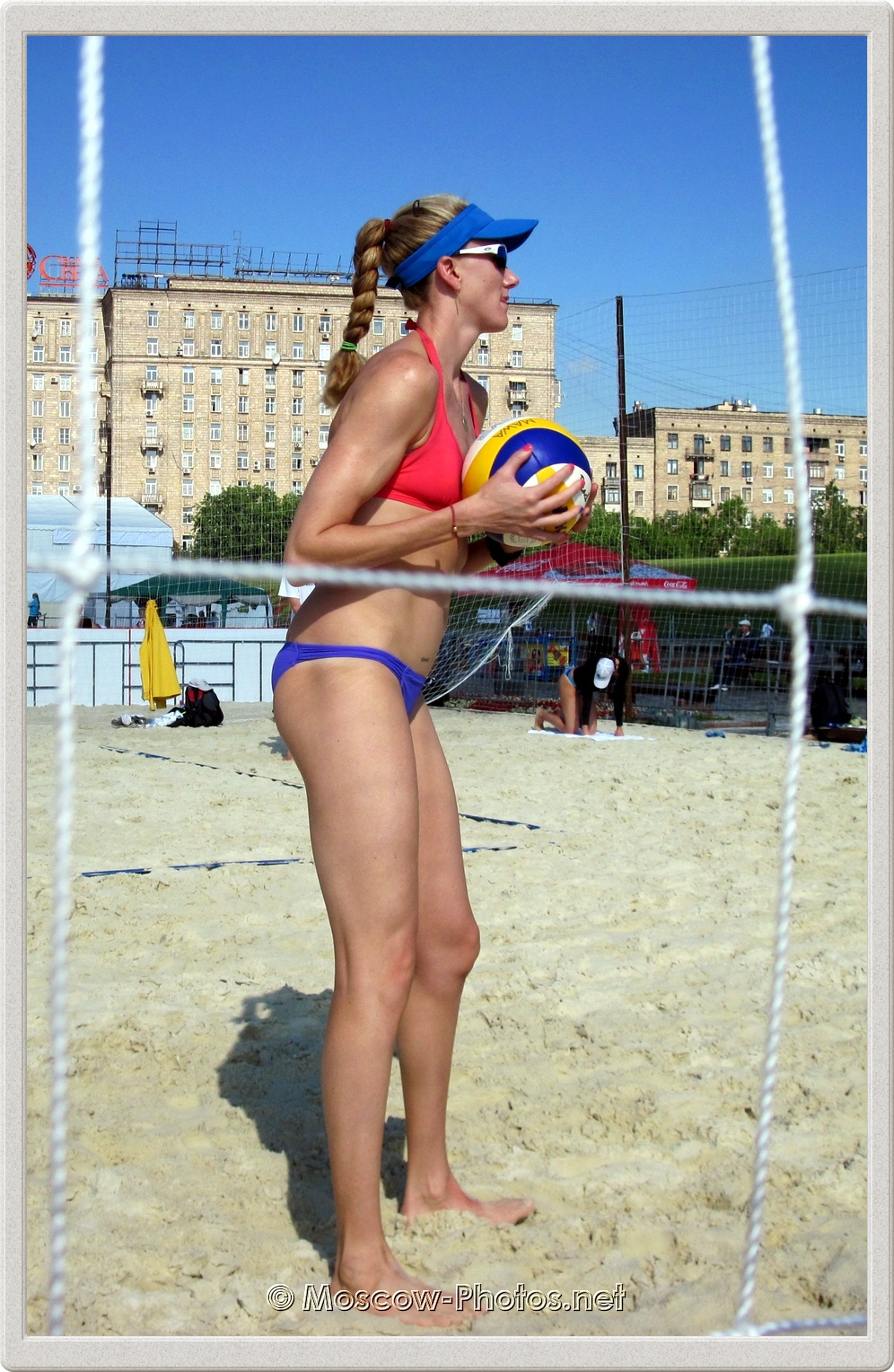 Kerri Walsh With Mikasa Ball