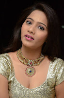 Actress Mitraw Stills at Aame Evaru Movie Audio Launch 0007.jpg