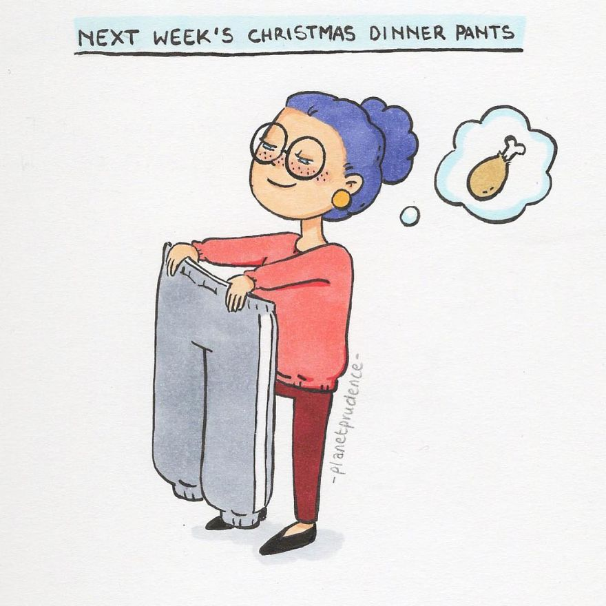 28 Hilarious Illustrations About Women's Everyday Problems