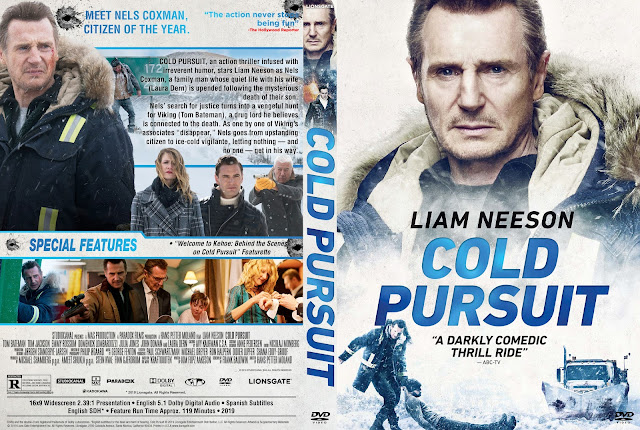 Cold Pursuit DVD DVD Cover