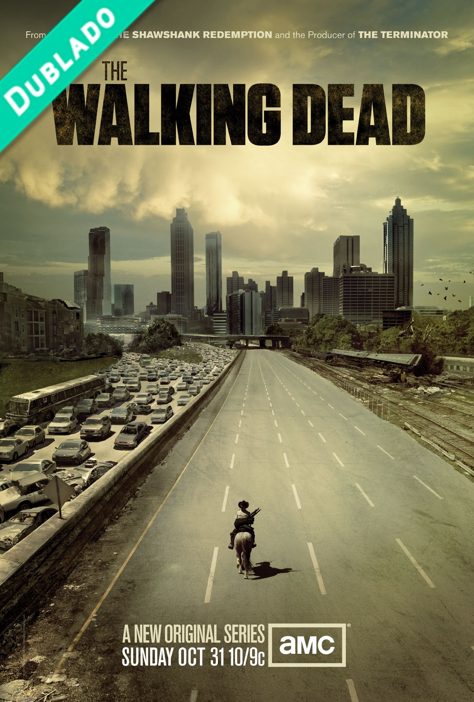 The Walking Dead 1ª Temporada Bluray 720p Dublado Torrent Download
