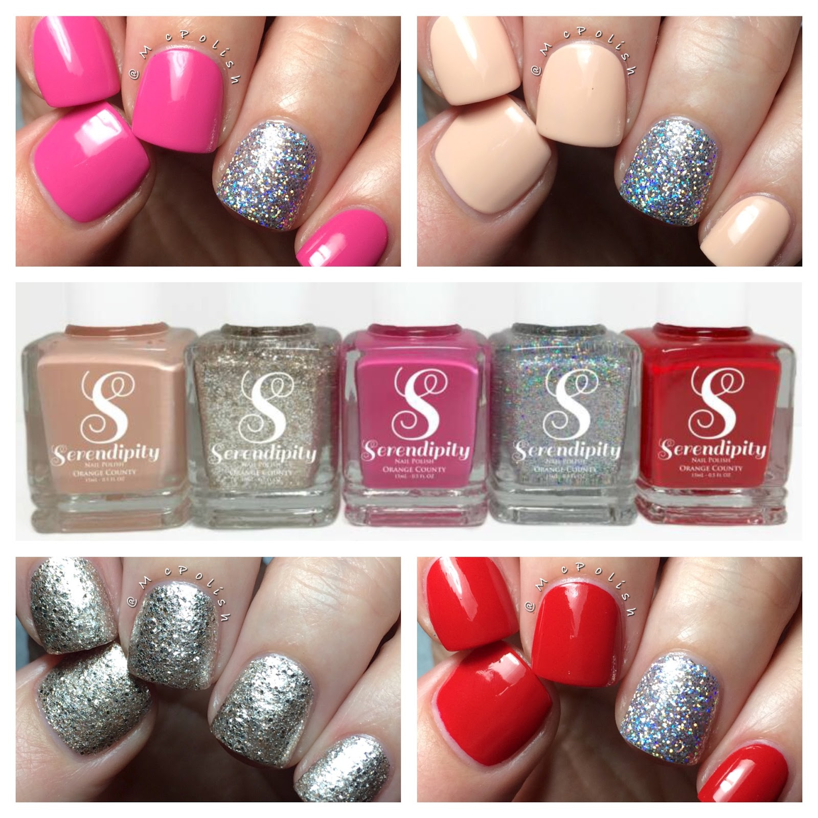 Serendipity Nail Polish - Coastal Christmas Collection - Polish Etc.