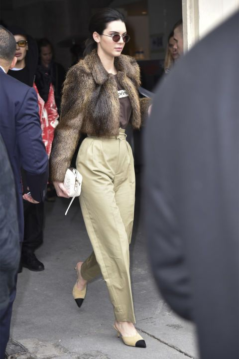 Image result for kendall jenner in kitten heels