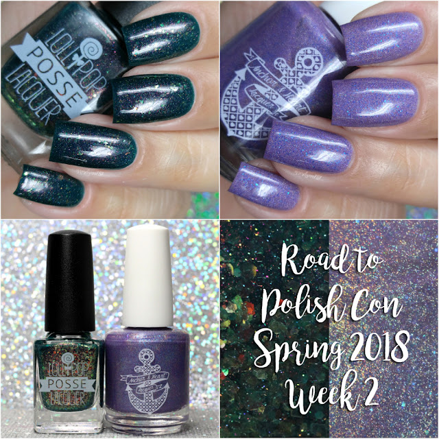 Road to Polish Con Spring 2018 | Week 2 - Lollipop Posse Lacquer and Anchor & Heart