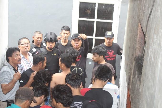 14 Pemuda Pesta Sabu Di Jembatan Besi Ditangkap Team Pemburu Preman Polsek Tambora