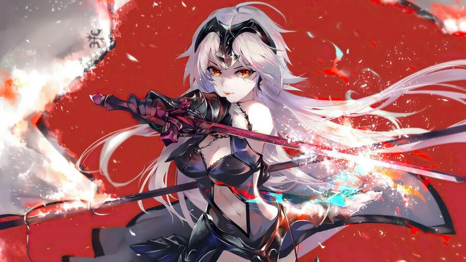 Fate/Grand Order, Jeanne d'Arc, Alter, 4K, #6.2308