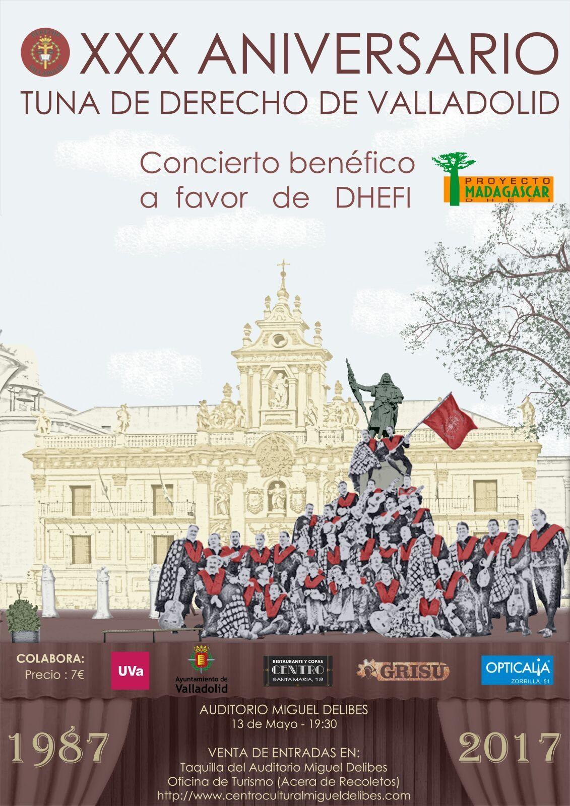 Banco del tiempo ayuntamiento de valladolid xxx aniversario tuna de derecho concierto solidario - Oficina turismo valladolid ...