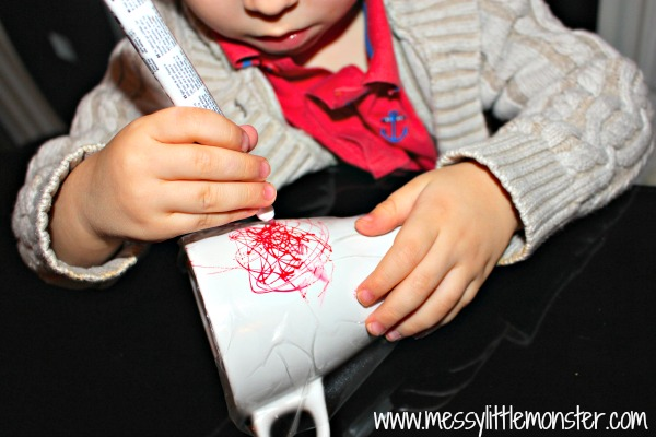 sharpie marker pen scribble mug for toddlers