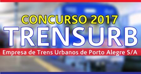 Concurso TRENSURB RS 2017