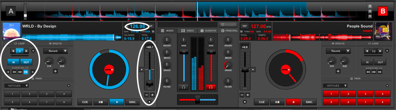Partes Virtual DJ 8