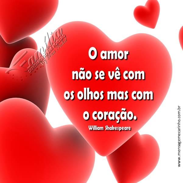 MENSAGENS DE CARINHO: O Amor