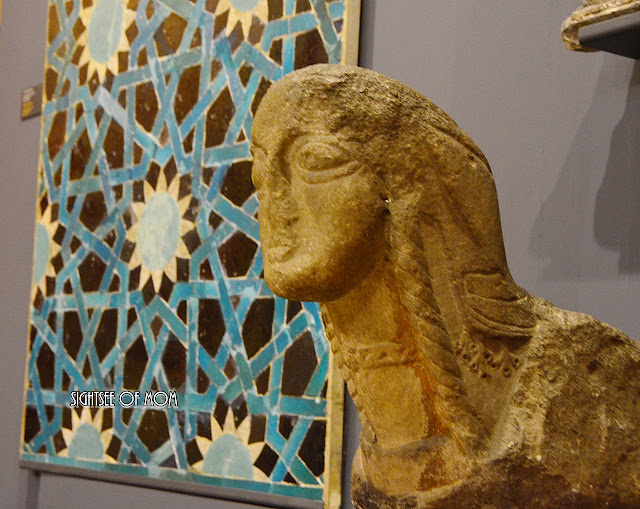 You will find a very impressive parts from early Turkish and Islamic art period at Stone Art Collection