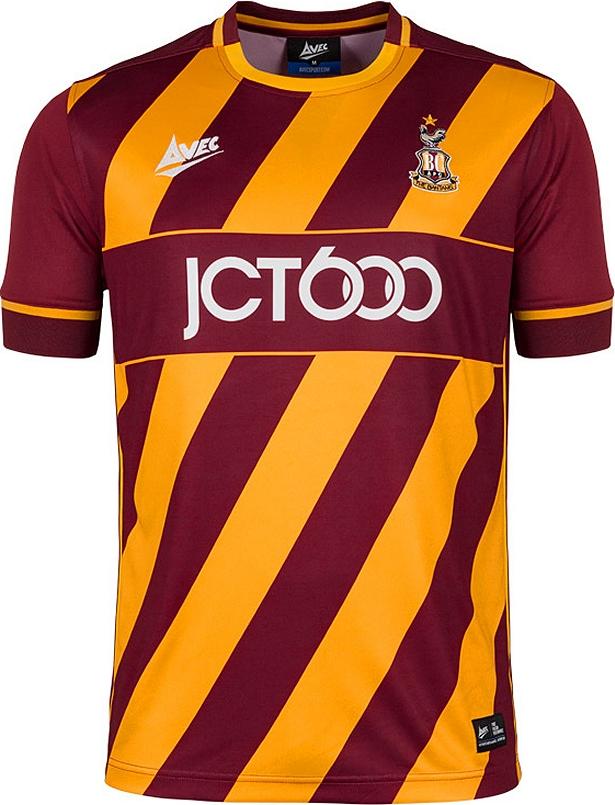 d3176f3c37 Avec Sport divulga as novas camisas do Bradford City - Show de Camisas