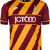 Avec Sport divulga as novas camisas do Bradford City