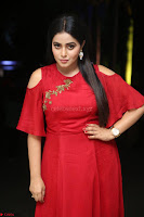 Poorna in Maroon Dress at Rakshasi movie Press meet Cute Pics ~  Exclusive 138.JPG