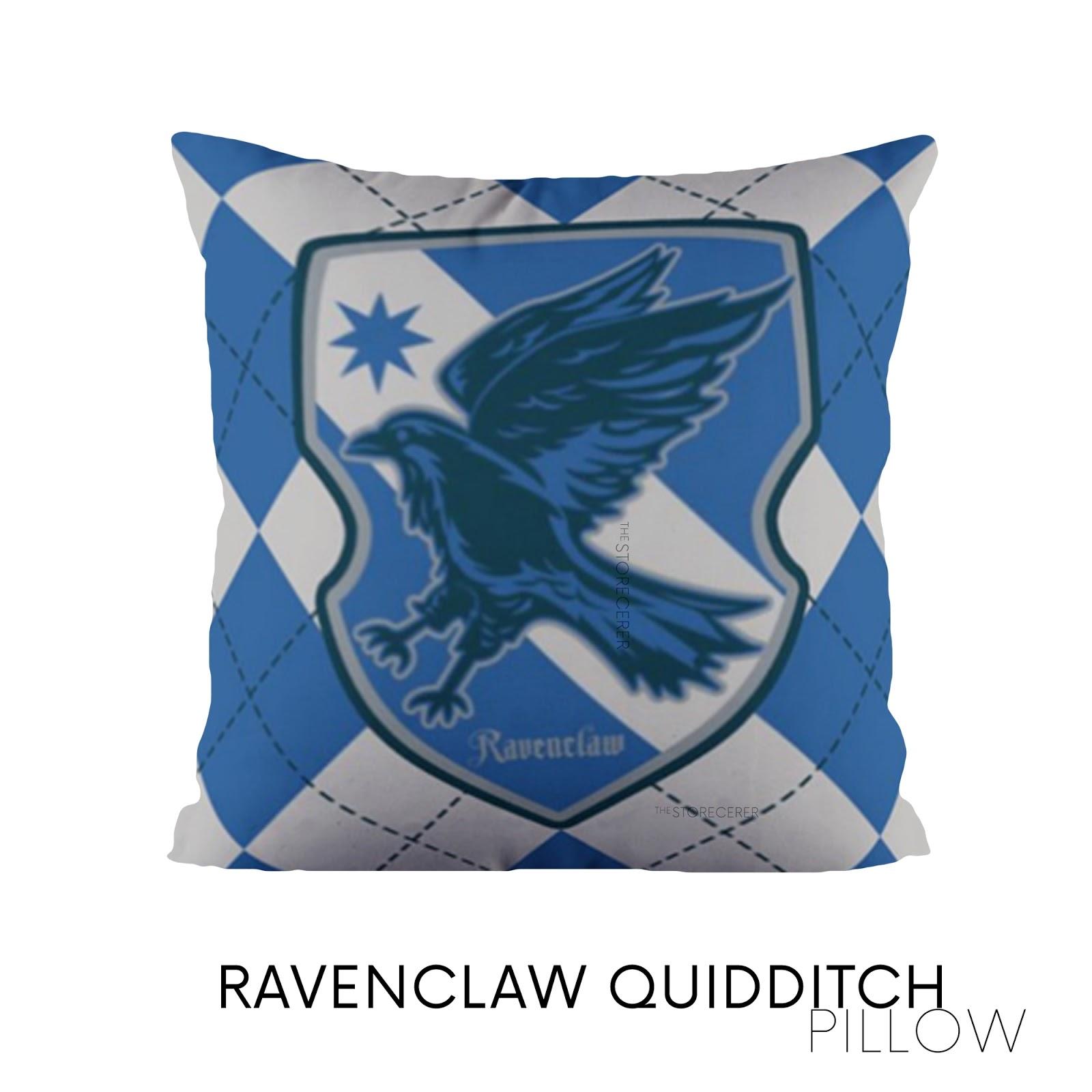 bantal kotak ravenclaw quidditch