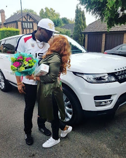 E-Money Gives Wife 2016 Customized Range Rover (Photos)