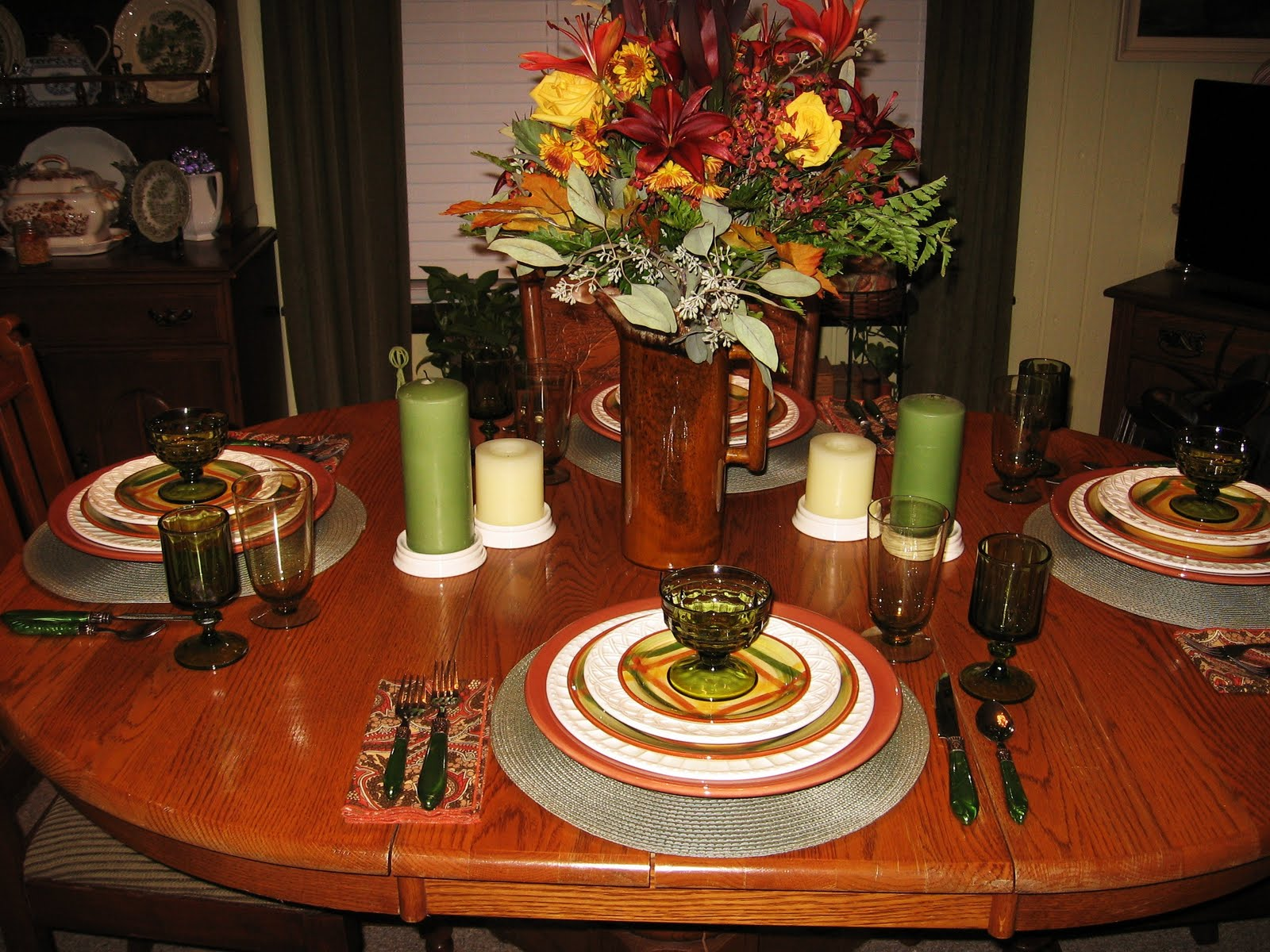 In The Middle Of Nowhere November Tablescape