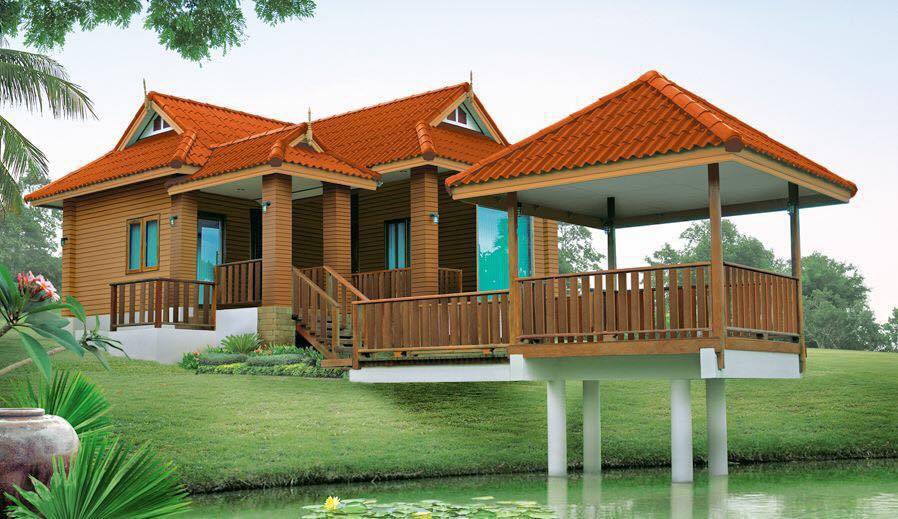30 Desain Rumah Klasik Sederhana Adem Dipandang Rumahku Unik