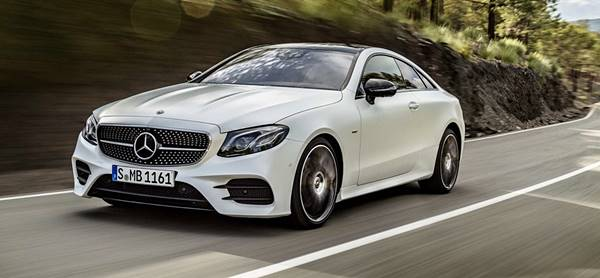 2018 Mercedes-AMG E63 Coupe and Convertible Hybrid E-Class AMG