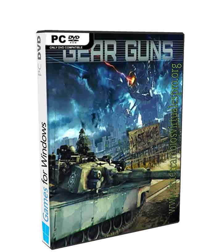 GEAR GUNS Tank Offensive poster box cover