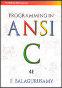 balaguruswamy c language pdf