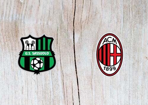 Sassuolo vs AC Milan Full Match & Highlights 30 September 2018