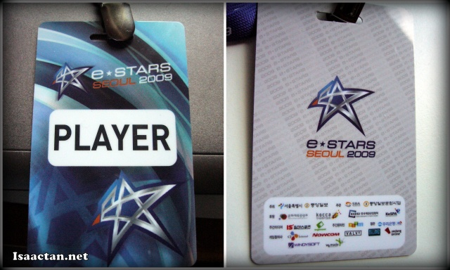 My Player badge
