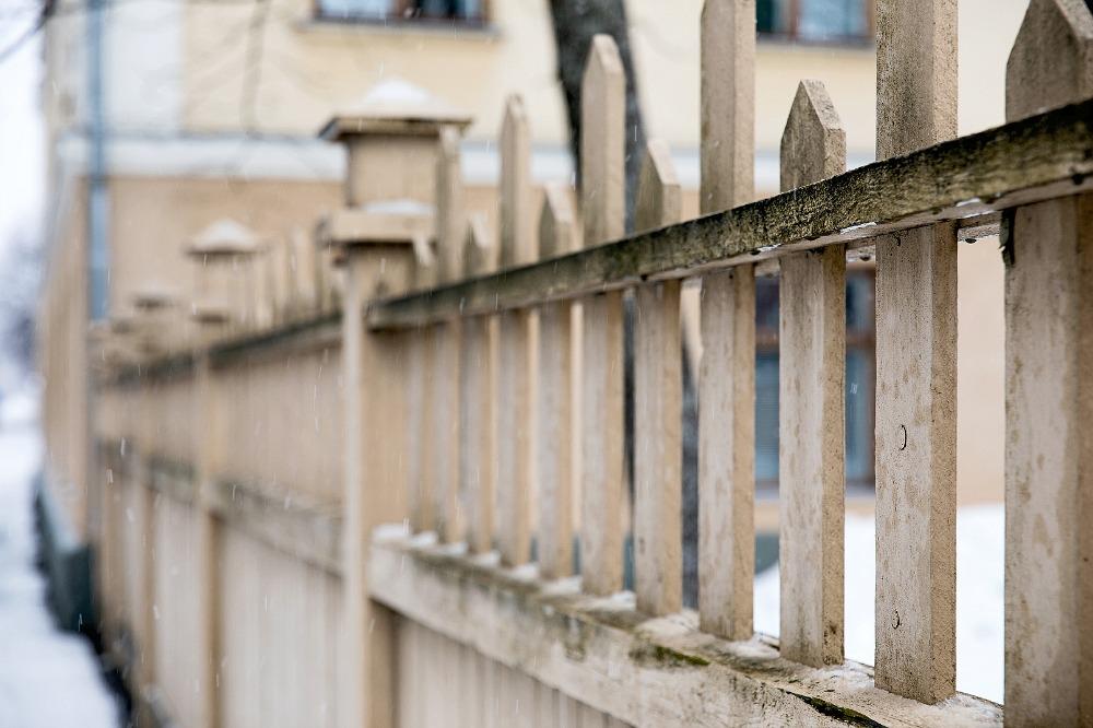 Kuopio, talvi, valokuvauskurssi, Frida Steiner, Visualaddict, kurssi, valokuvaus, valokuvaaminen, kaupunki, Suomi, Finland, Valokuvaaja, Frida Steiner, Photography, aita