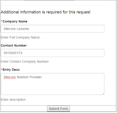 Sample WFFM Form