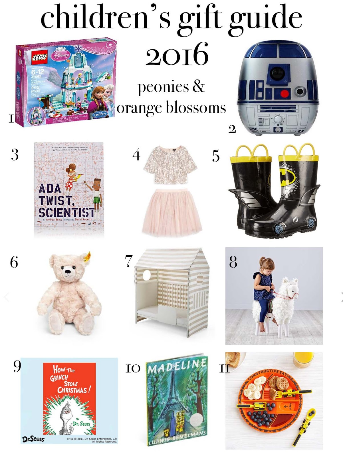 Children's Holiday Gift Guide 2016