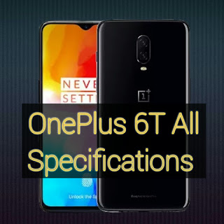 OnePlus 6T all specifications