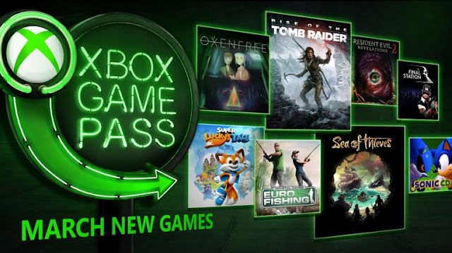 Xbox Game Pass ofrece este marzo Rise of Tomb Raider y Sea of Thieves