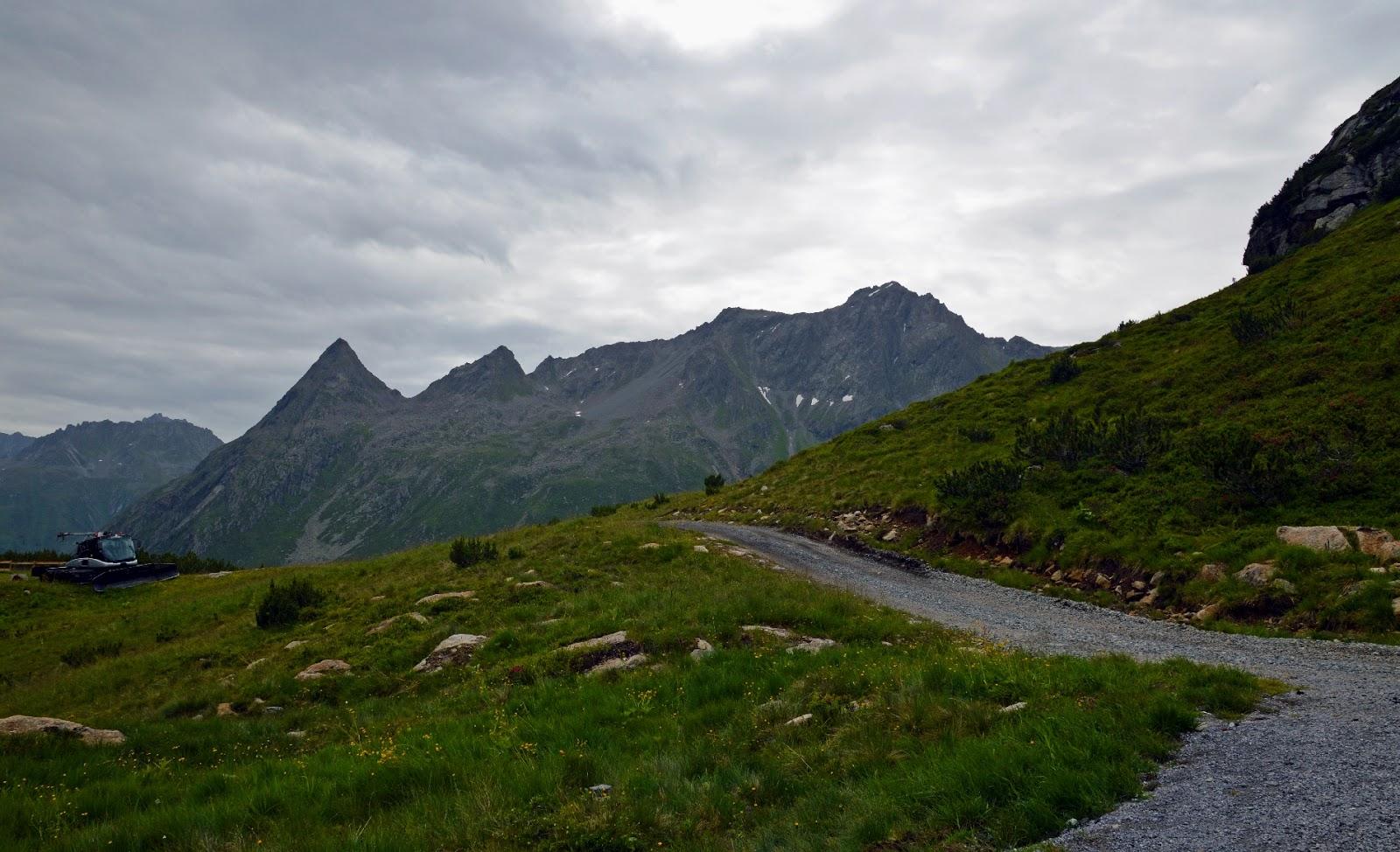 Breitspitz, Alpy, Vorlarlberg, Blog górski