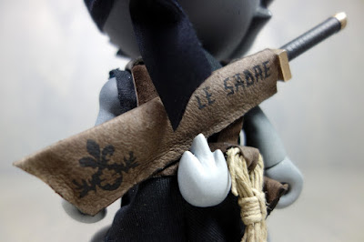 Le Sabre Custom The Blank Resin Figure by Huck Gee