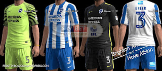 Brighton And Hove Albion kits 2016-2017 Pes 2013