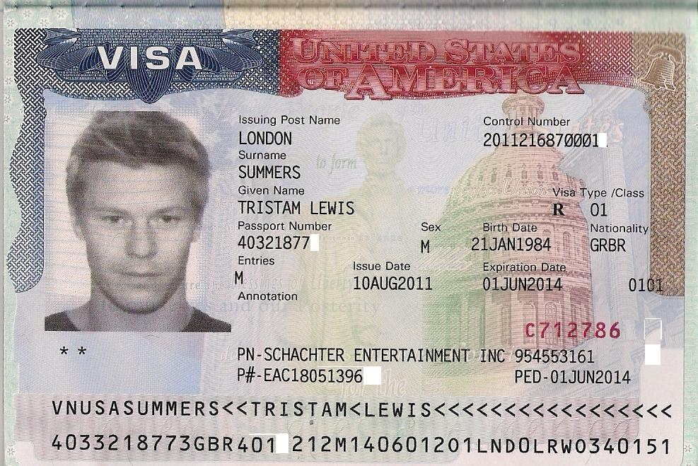 U S A  Visas Aliens Of Extraordinary Talent