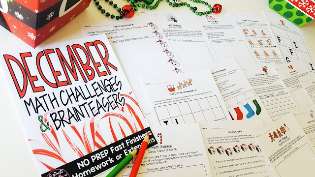 https://www.teacherspayteachers.com/Product/Christmas-Math-Challenges-Brainteasers-December-Fast-Finishers-HW-Extensions-2889339?utm_source=ST%20Blog%20Free%20Dec%20MC&utm_campaign=Paid%20Dec%20MC