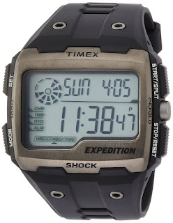 Timex TW4B02500 Mens Expedition Digital Shock Black Chrono