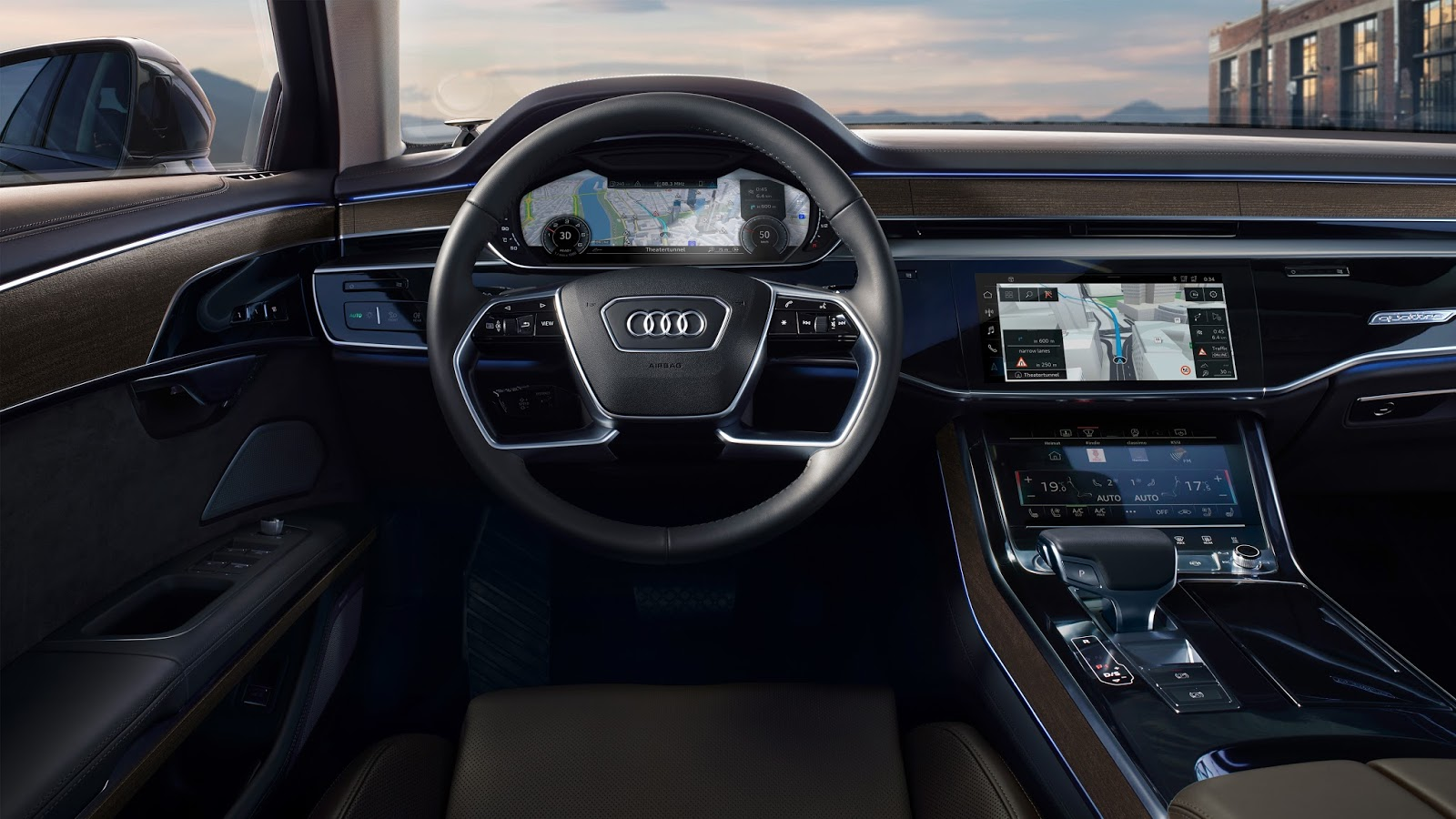 Audi A8 with HERE technology
